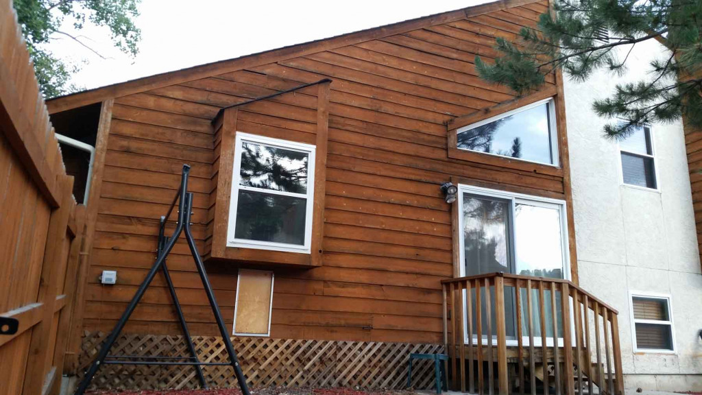 Truwood Siding With Cedar Trim