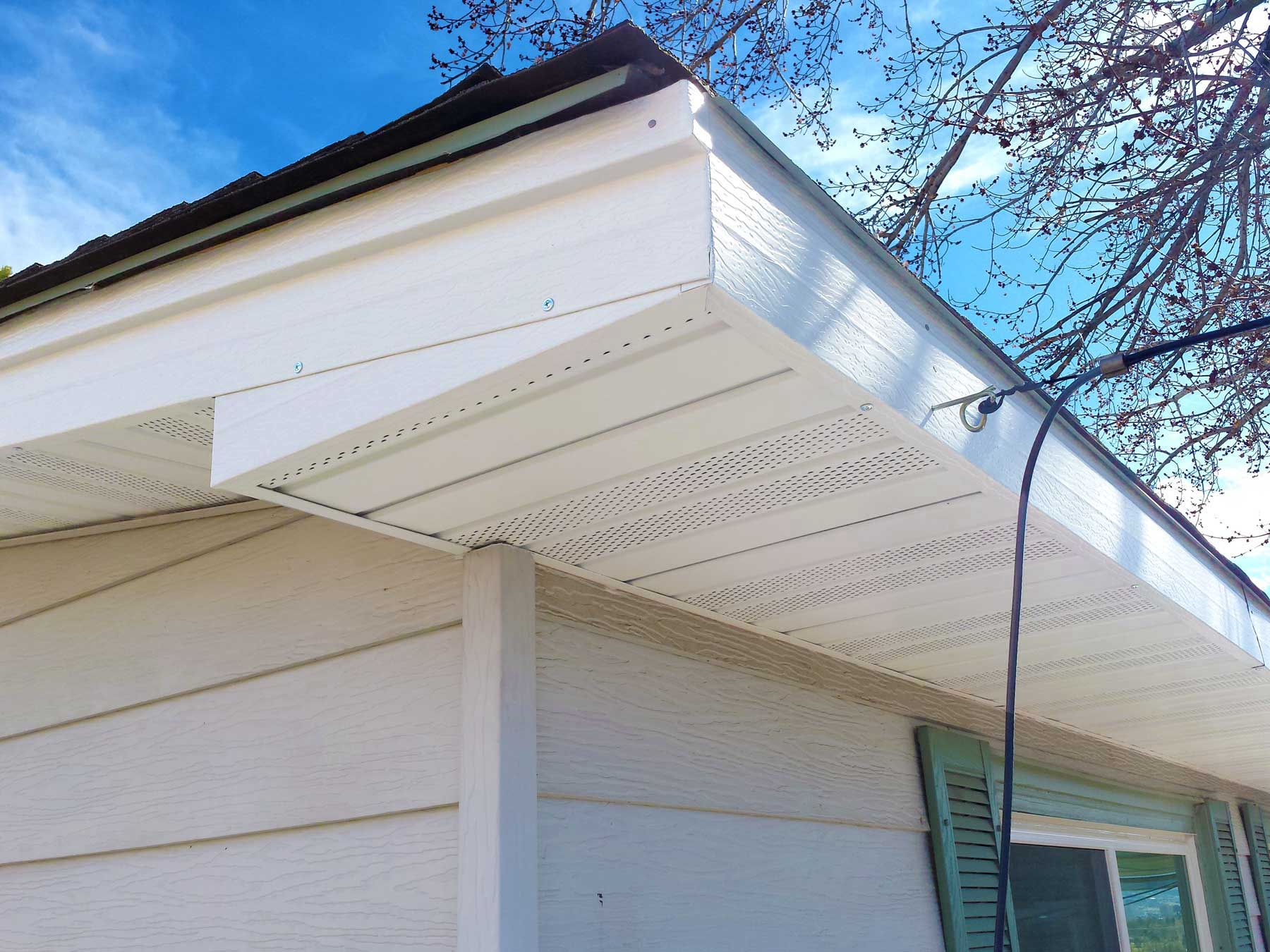Aluminum Soffit Steel Fascia Board Colorado Springs