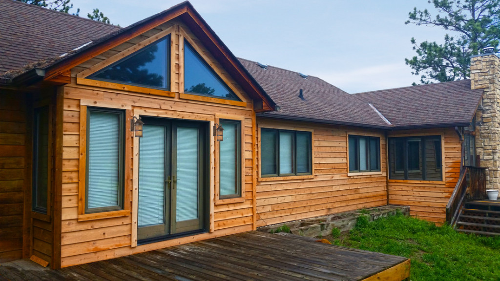 Cedar Siding Replacement In Larkspur Colorado June 2015