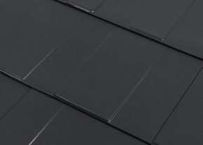 Steel Shingle Roofing Color Charcoal